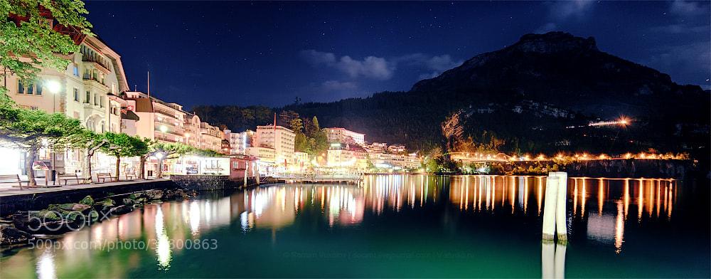 Photograph Brunnen at night by Roman Vukolov on 500px