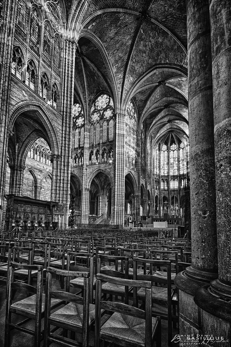 Photograph Basilique St-Denis by Bastien HAJDUK on 500px