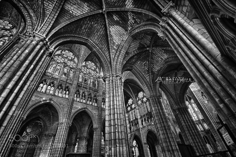 Photograph Basilique St-Denis by Bastien HAJDUK on 500px