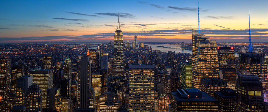 Photograph Top of the Rock by Jeff Lombardo on 500px