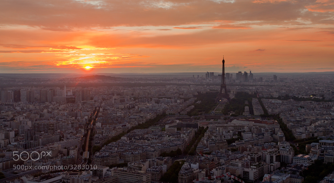Photograph Paris sunset by Sergey Shaposhnikov on 500px