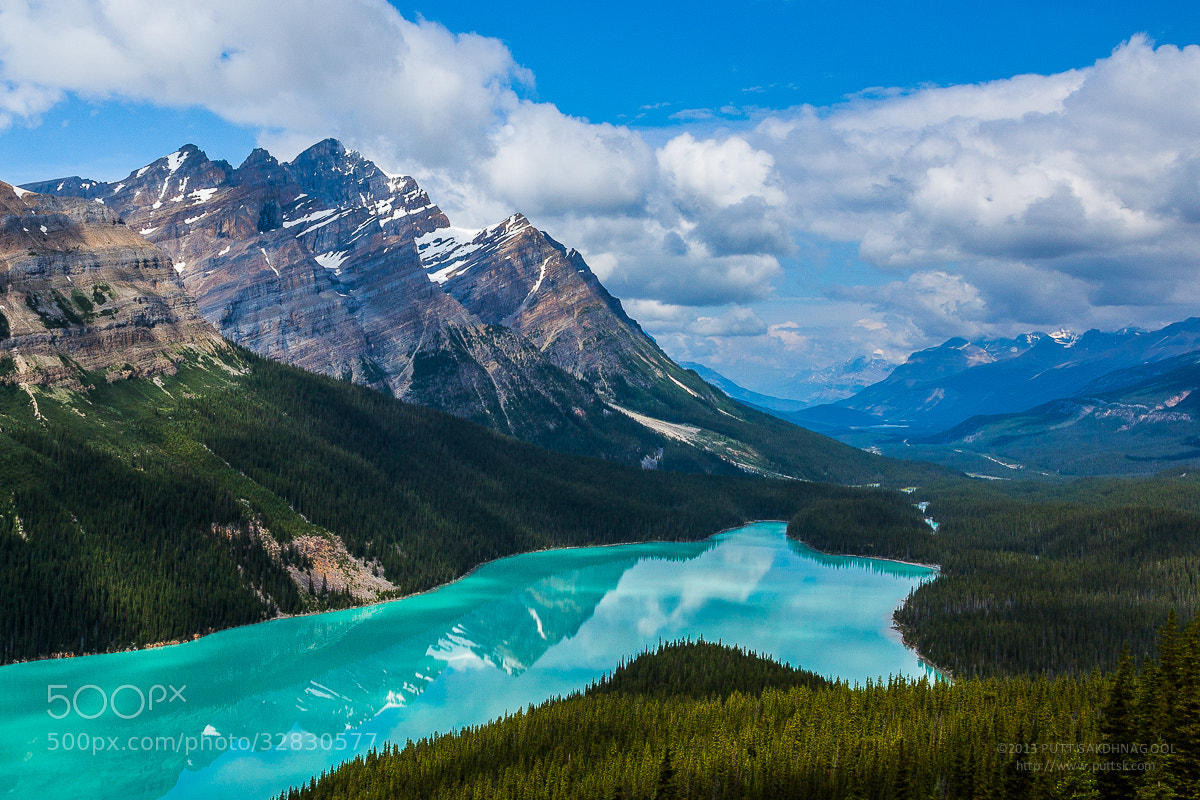 Photograph Peyto Lake by Putt Sakdhnagool on 500px