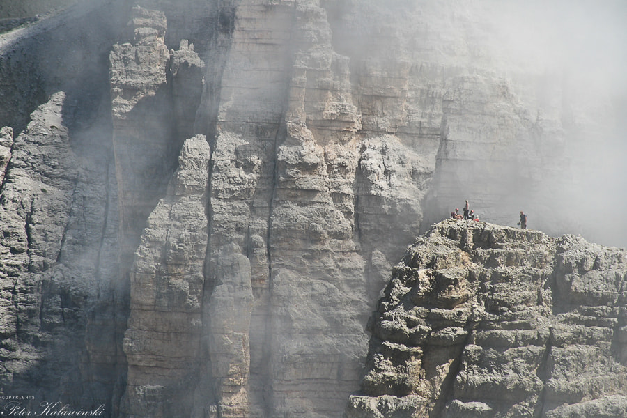 Photograph Dolomites - on the edge by Pe Ka on 500px