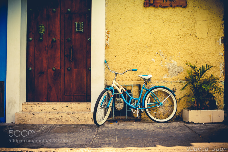 Photograph Cartagena de Indias Bike by David Juan on 500px
