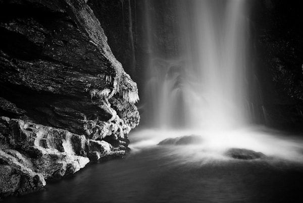 Photograph Winter Falls by Paul Cunningham on 500px