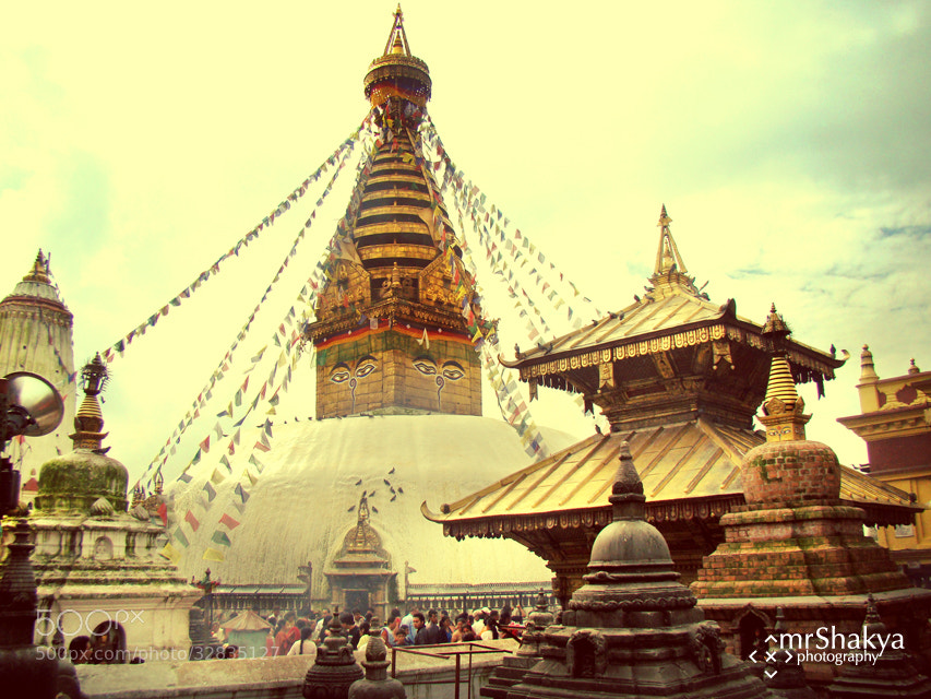 Photograph Swayambhu Nath Stupa by Manish Shakya on 500px