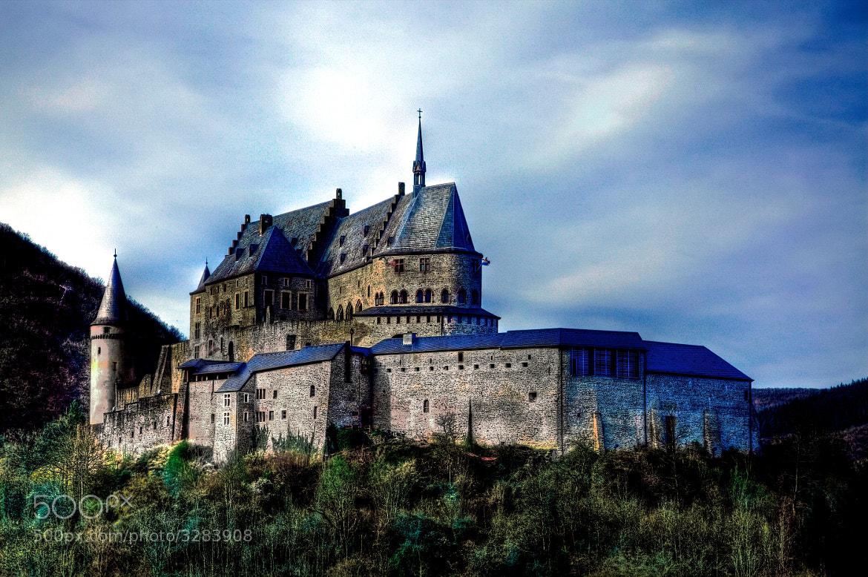 Photograph Castle Vianden by Christophe Pfeilstücker on 500px
