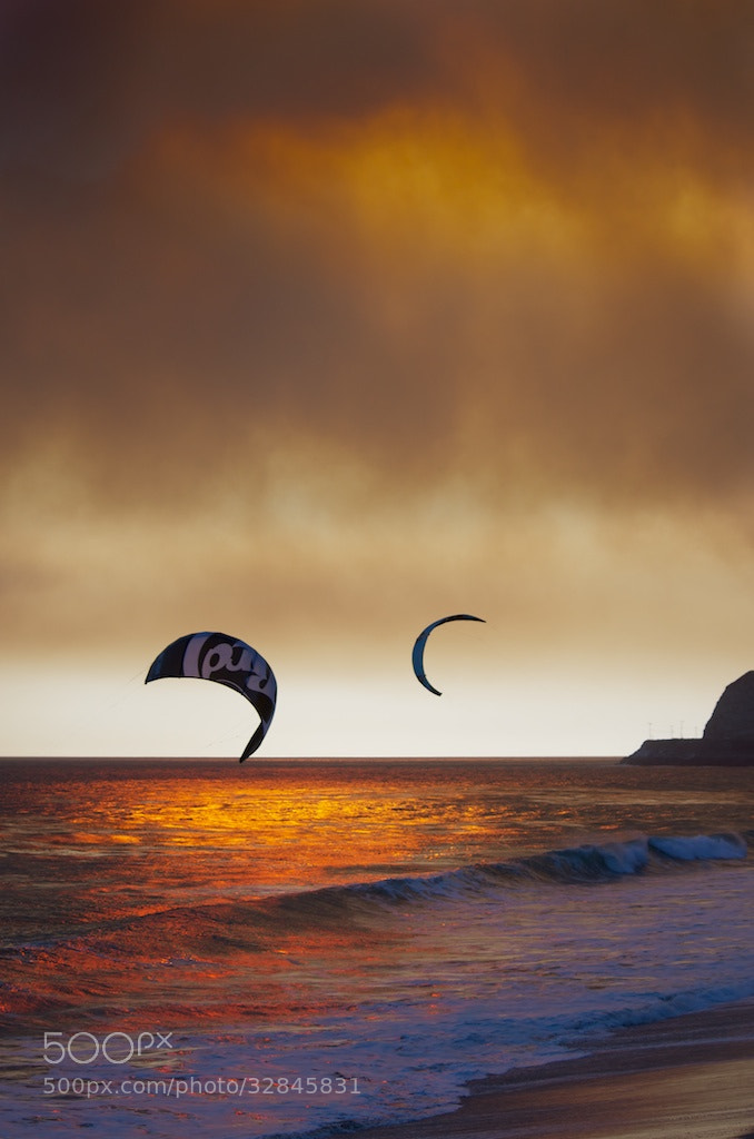 Photograph Kite Surfing by Jerry Nichols on 500px
