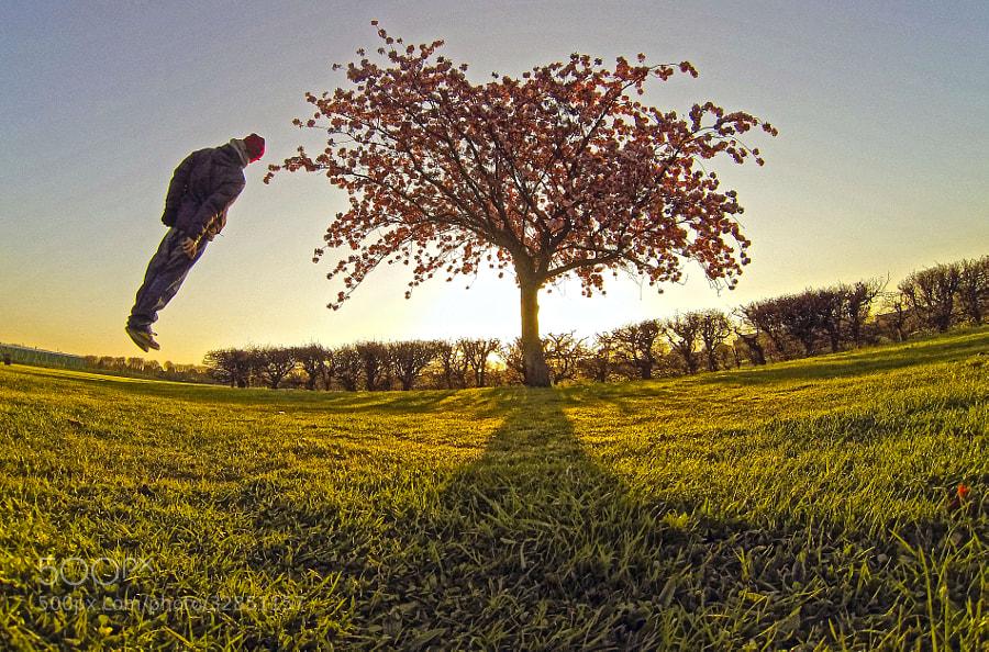 Photograph Morning Levitation (Meditation) by Justas Serstkovas on 500px