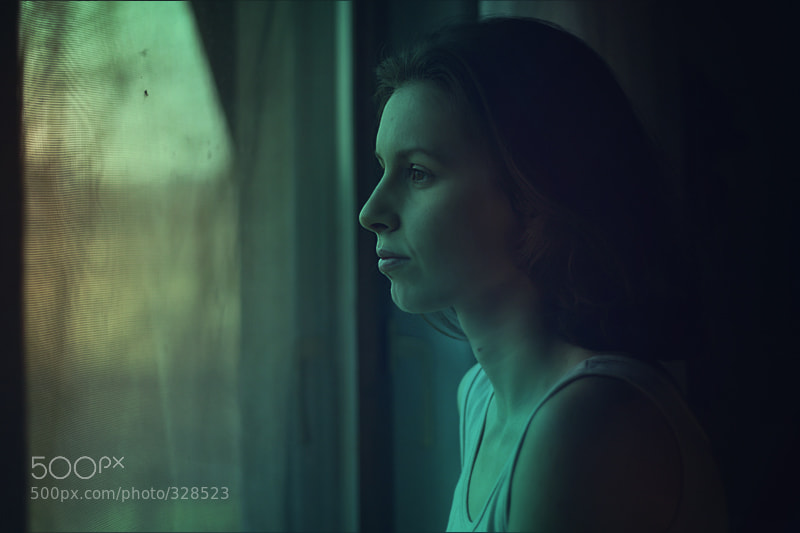 Photograph attic window light by Maja Petric on 500px