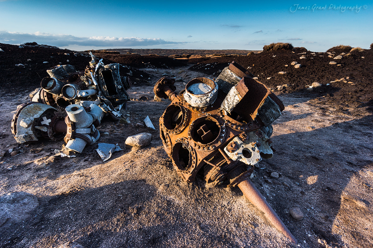 Photograph Bleaklow Air Crash by James Grant on 500px