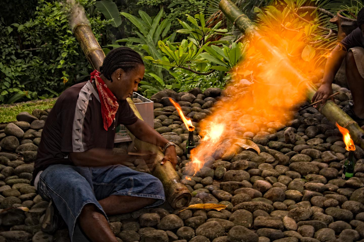 Photograph Bamboo Cannon by Chris Huxley on 500px