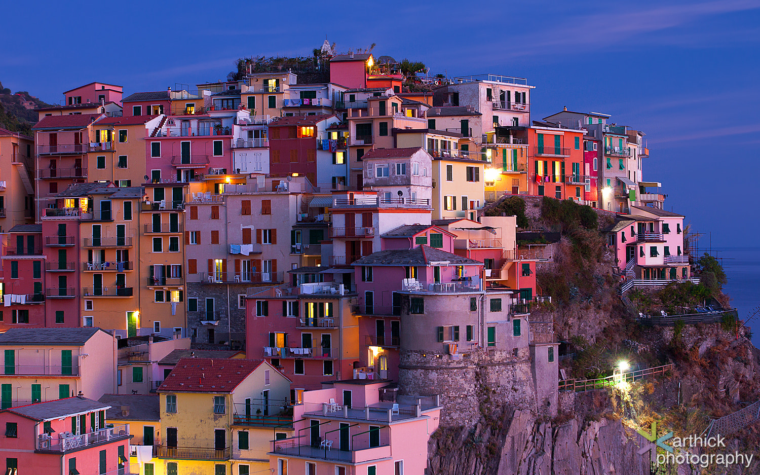 Photograph Colorful Manarola by Karthick Ramachandran on 500px