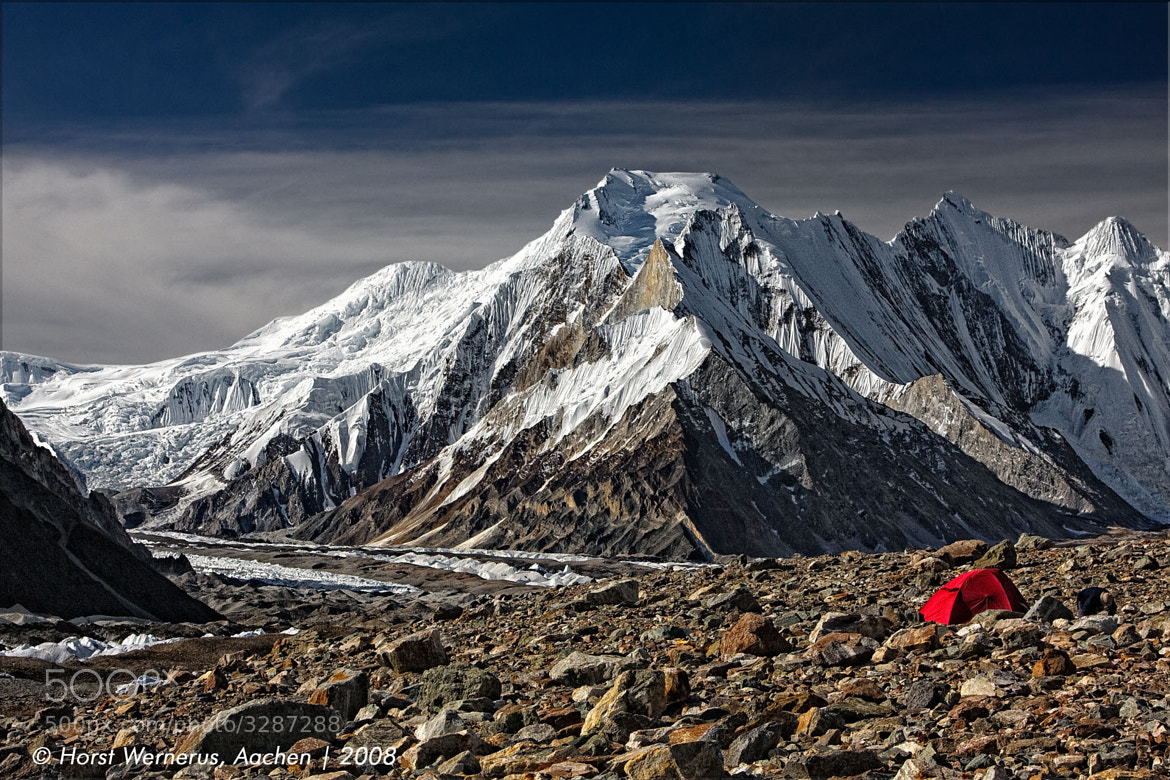 Photograph Chogolisa (7668m) Karakorum by Horst Wernerus on 500px