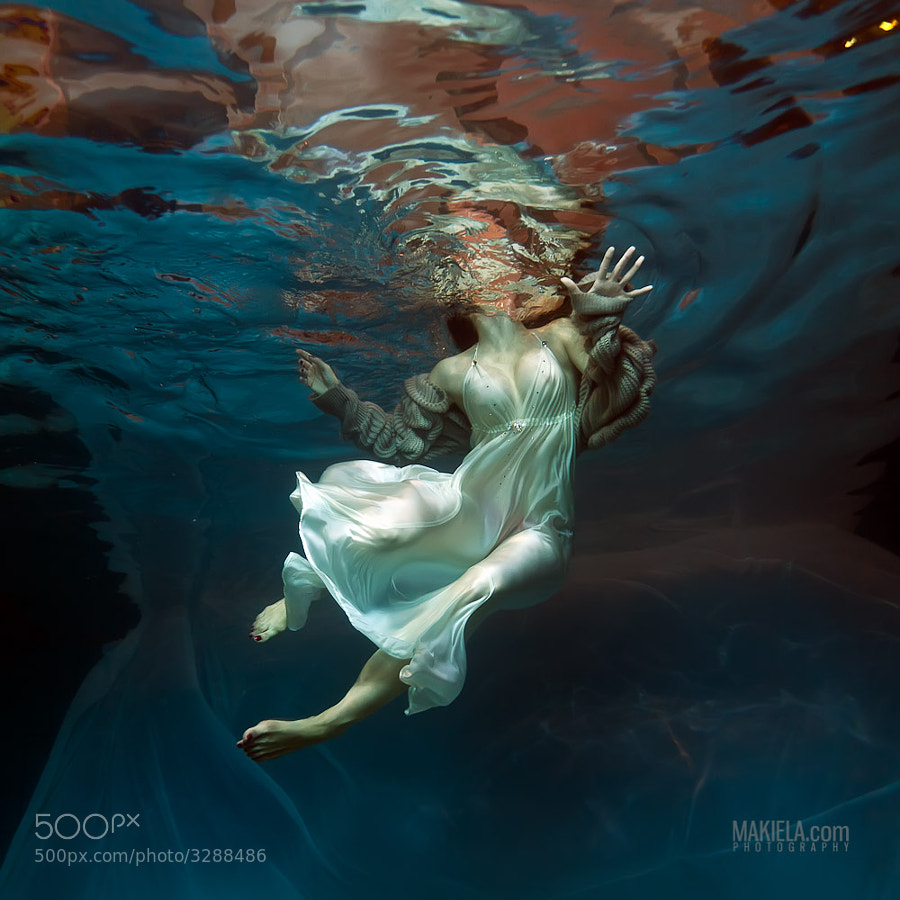 Photograph Underwater Basia by Rafal Makiela on 500px
