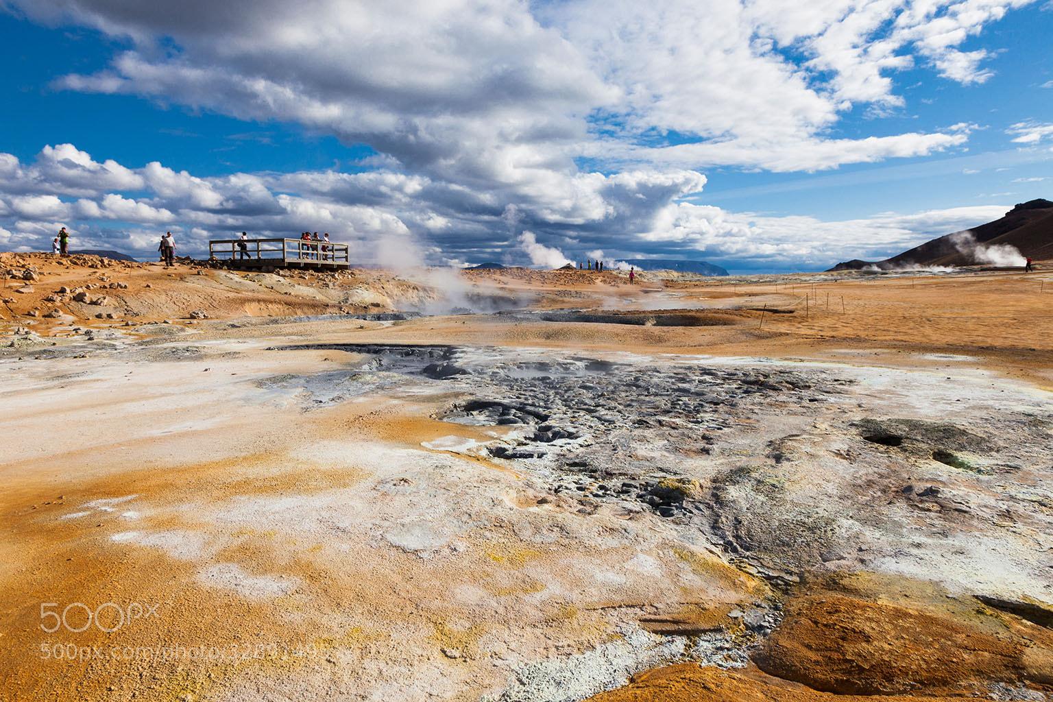 Photograph Námaskarð - Geothermal site, northern Iceland by Páll Guðjónsson on 500px