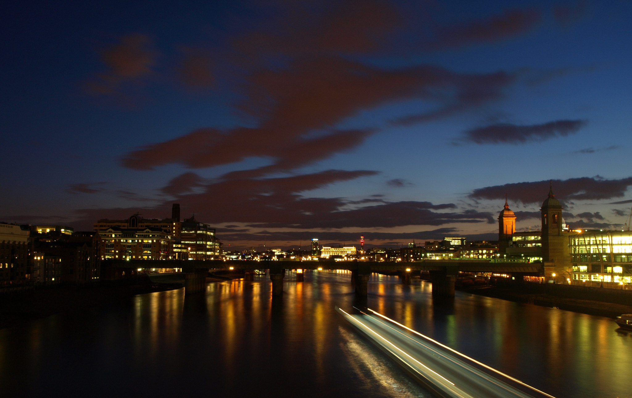 Photograph Cannon St. Railway Bridge by Jade Hucklesby on 500px