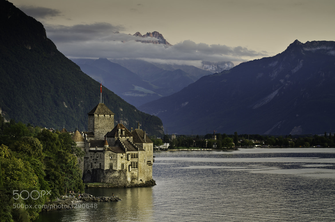 Photograph Castle of Chillon by Raúl Iglesias on 500px