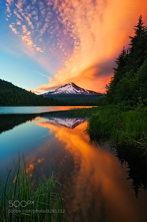 Photograph Sky Erupts Instead by Rick Lundh on 500px