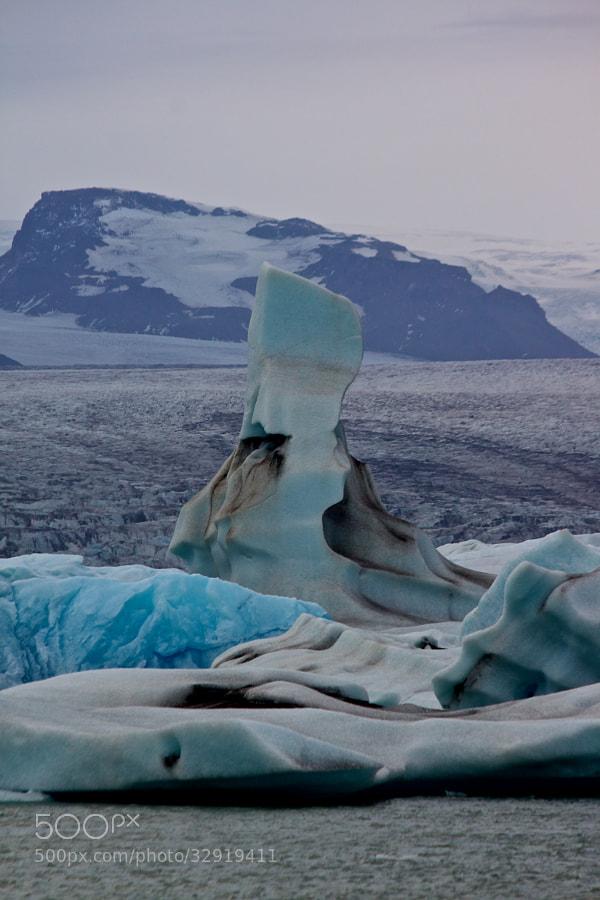 blue Ice - Jökulsárlón by Benjamin (leckermojito)) on 500px.com