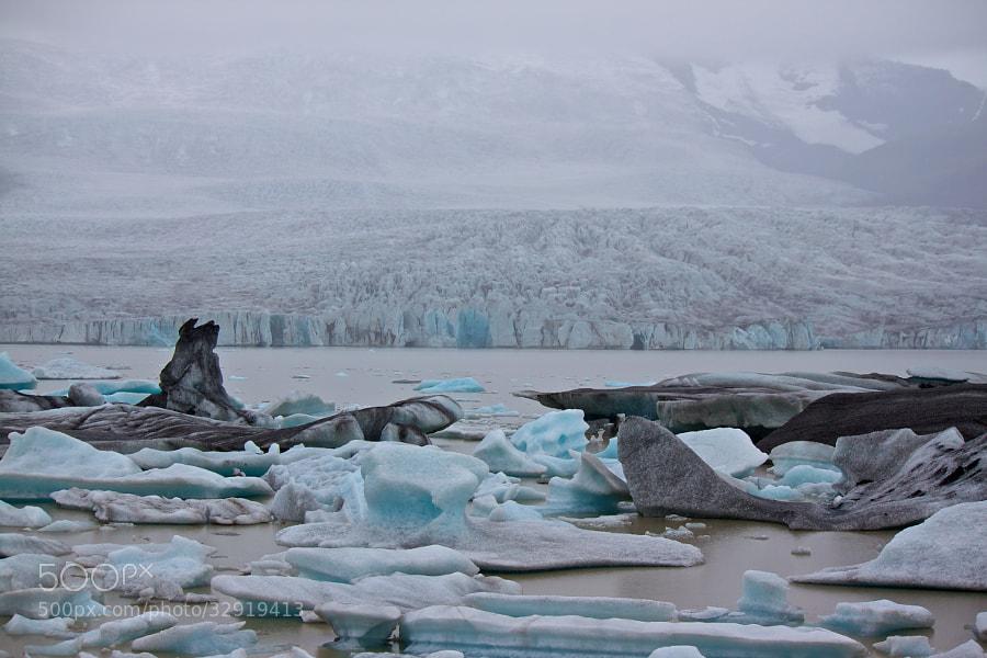 Der Gletscher kalbt - Jökulsárlón by Benjamin (leckermojito)) on 500px.com