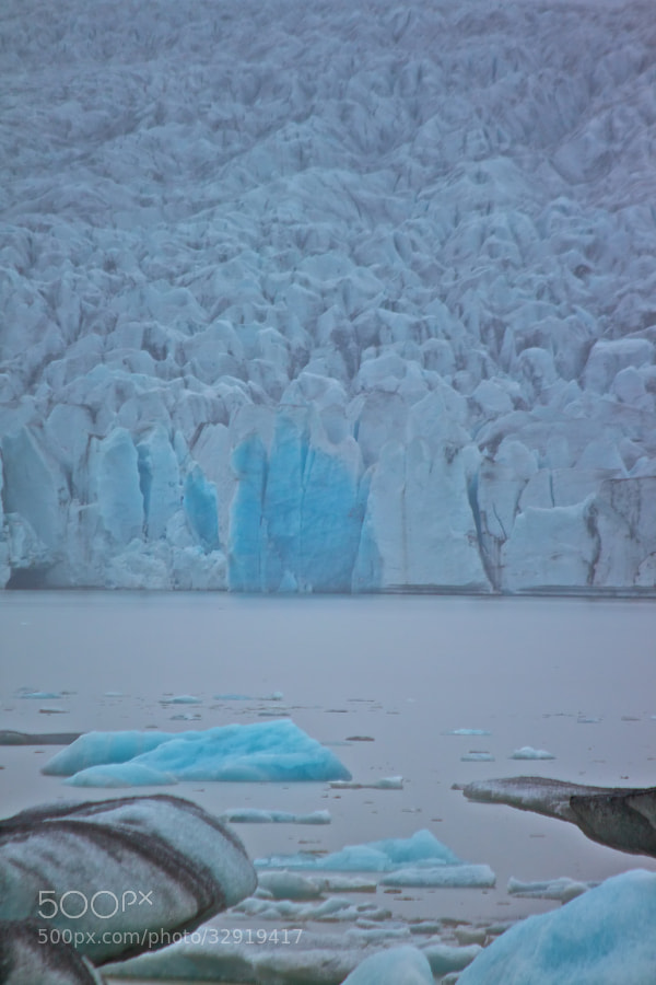 the blue ice - glacierlake Jökulsárlón by Benjamin (leckermojito)) on 500px.com