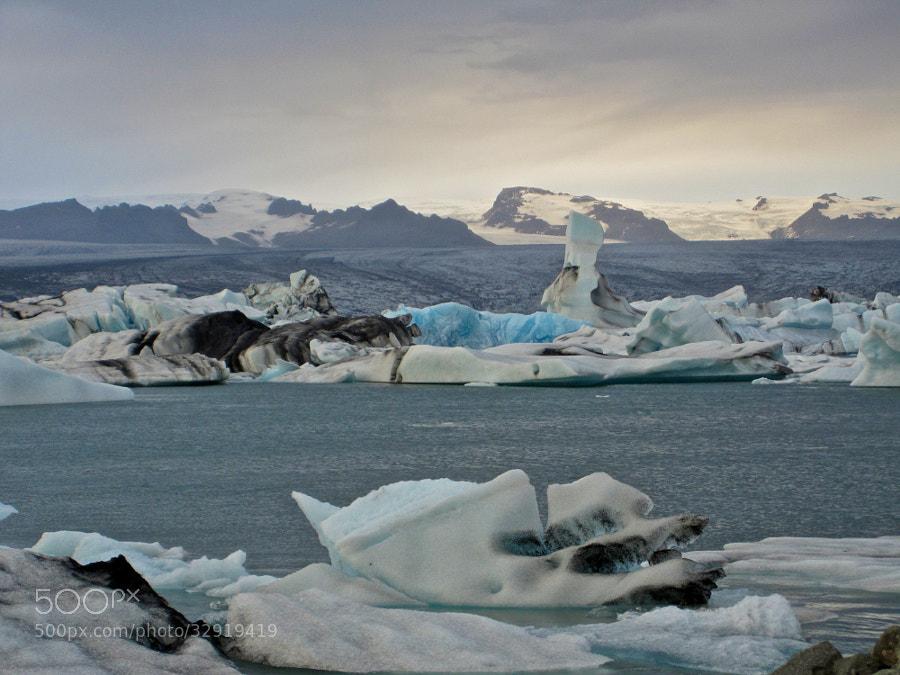 Gletscherlagune in Island - Jökulsárlón by Benjamin (leckermojito)) on 500px.com