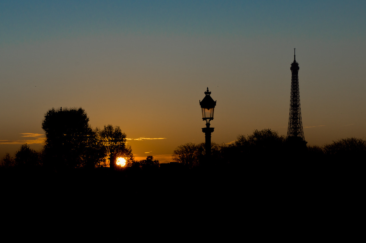 Photograph A Sunset over Paris by Mohamed Khalil El Mahrsi on 500px
