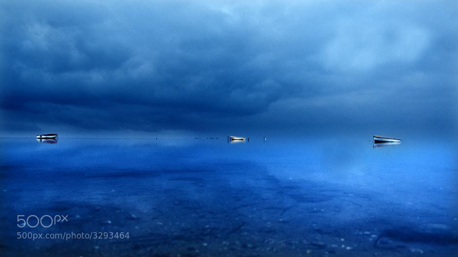 Photograph Blue sea by Lluis  de Haro Sanchez on 500px