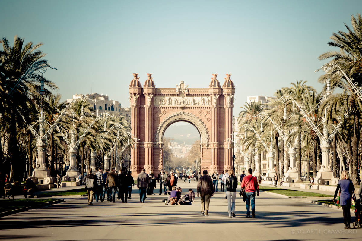 Photograph Arc de Triomf #3 by Stuart Crawford on 500px