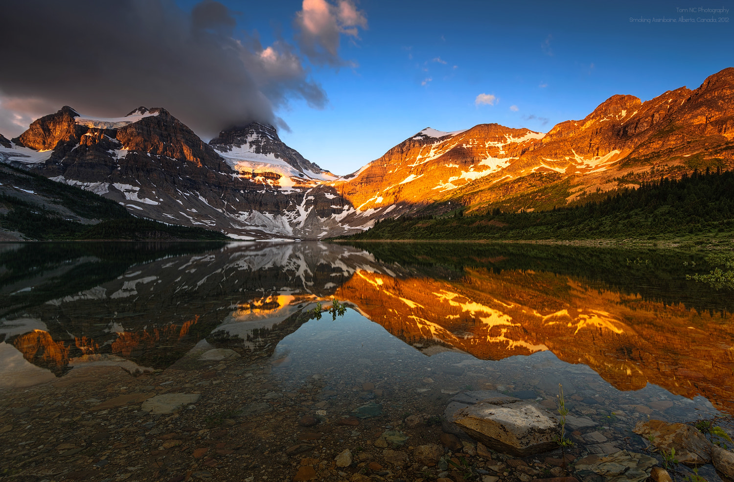 Photograph Smoking Assiniboine by Noppawat Charoensinphon on 500px