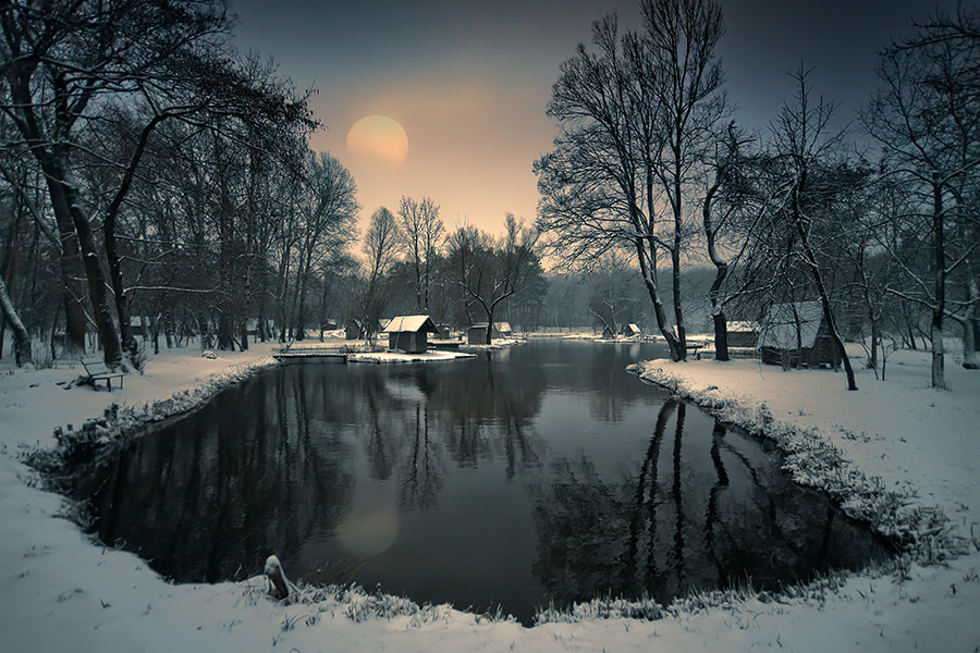 Photograph neverending winter by Adam Dobrovits on 500px