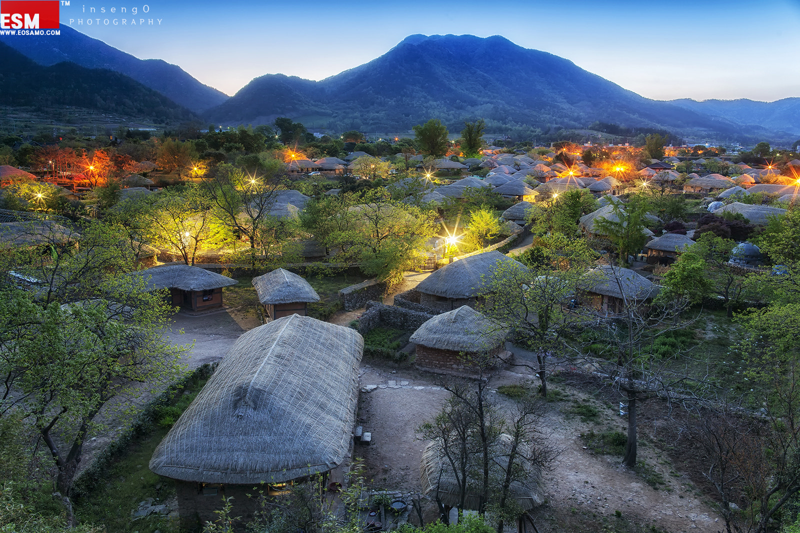 Photograph  Folk Village in NaGan Town by chan-wook Kim on 500px