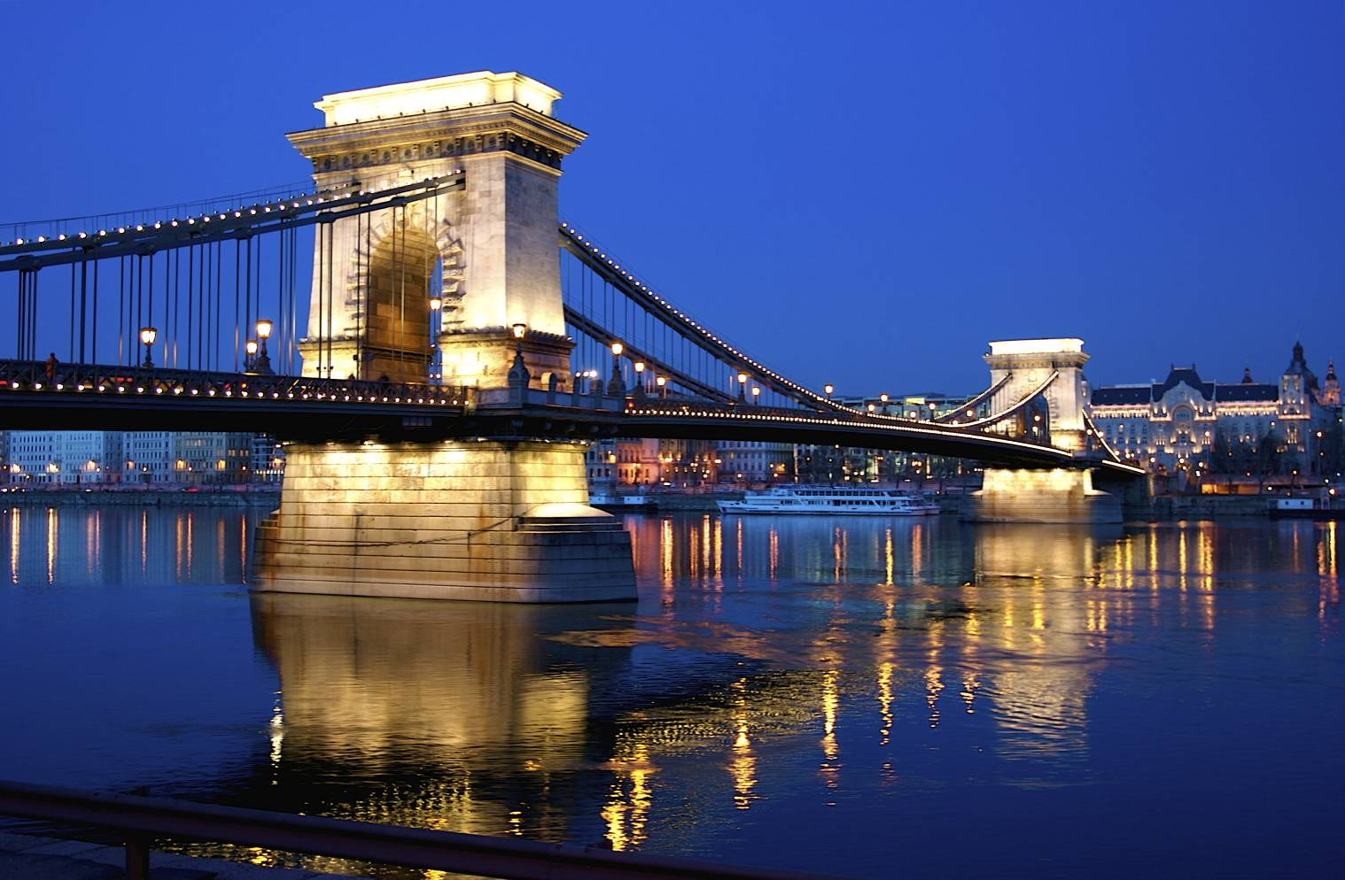 Photograph Budapest Széchenyi Chain Bridge by Guido Merkelbach on 500px