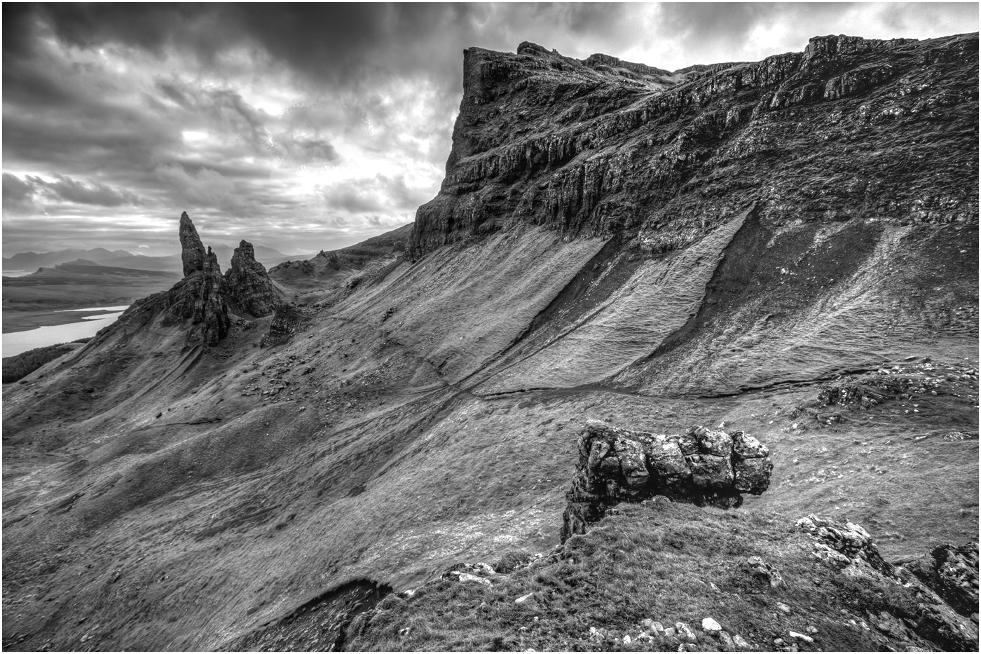 Photograph The Mighty Storr by Alan Coles on 500px