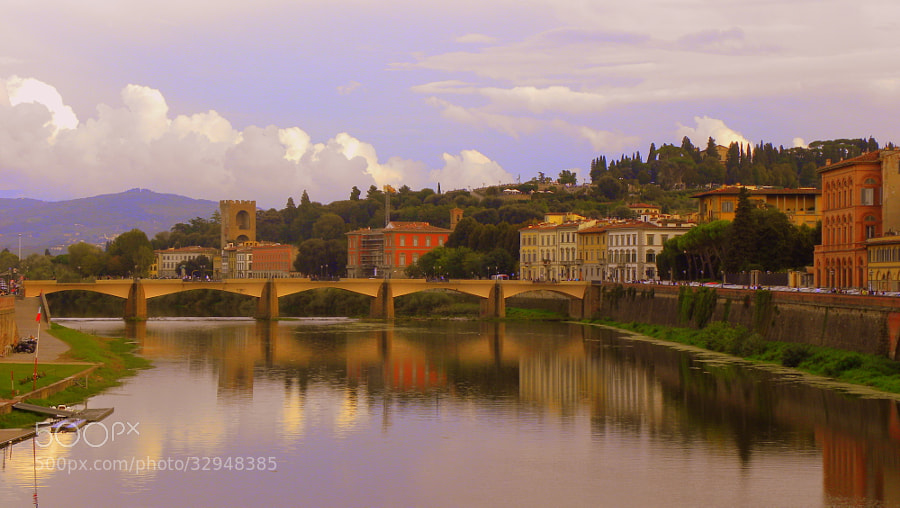 Ponte alle Grazie, Florence by Kunal  (kunald)) on 500px.com