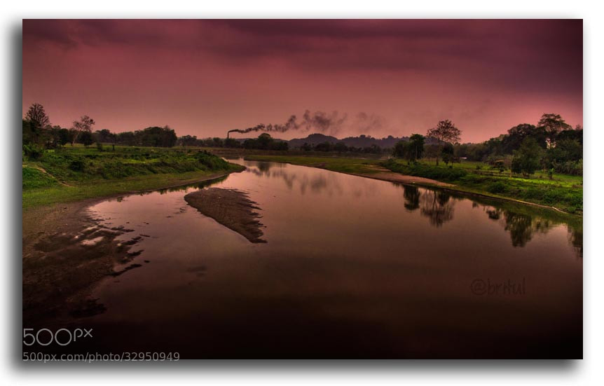 Photograph River by Britul Sharma on 500px