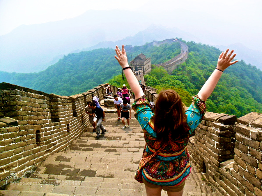 Photograph The Great Wall by Liz Britney on 500px