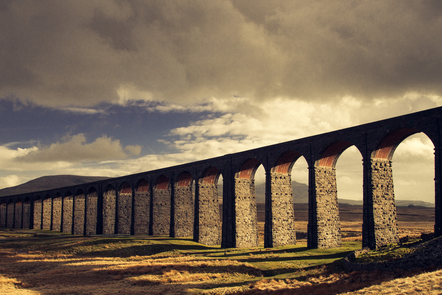 Photograph Ribblehead's Golden Viaduct by Chris Dale on 500px