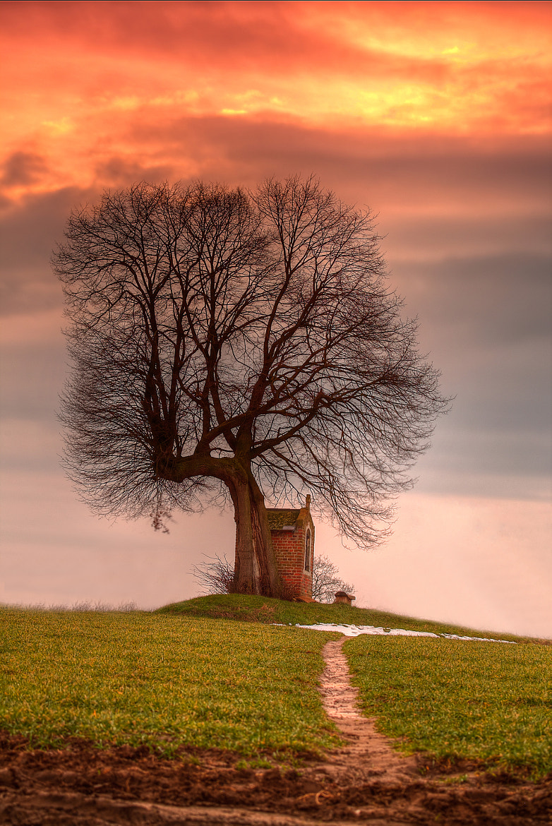 Photograph Sunset at the Chapel II by Tom Davidson on 500px