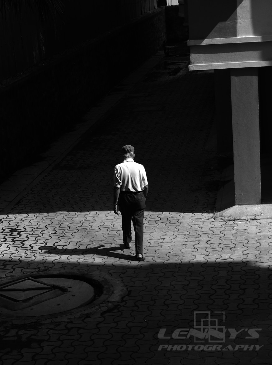 Photograph Walking Alone with your Shadow by Lenny Rajan on 500px