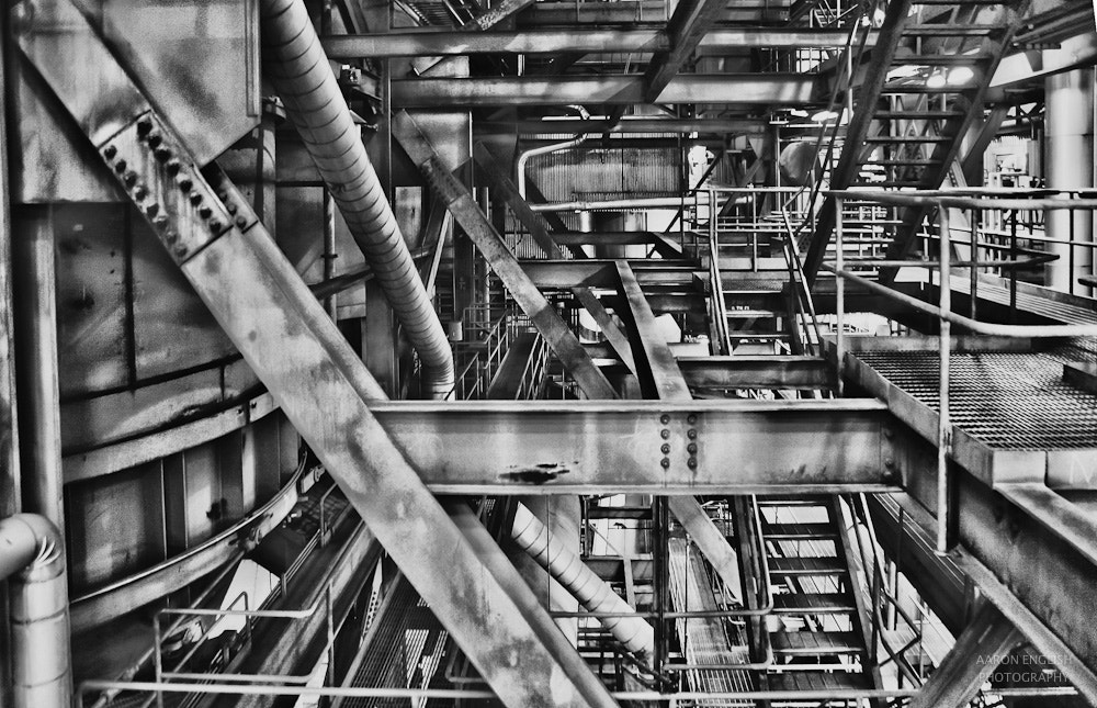 Photograph Coal Plant by Aaron English on 500px