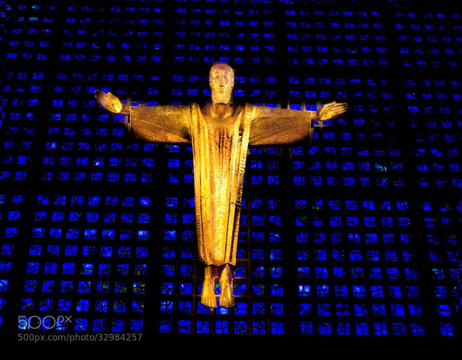 Photograph golden Jesus by Gunter Werner on 500px