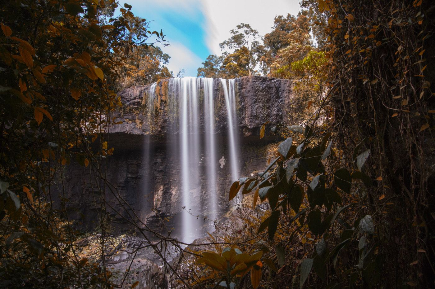 Photograph Elinjaa Falls in the Atherton Tablelands by Hans Fischer on 500px