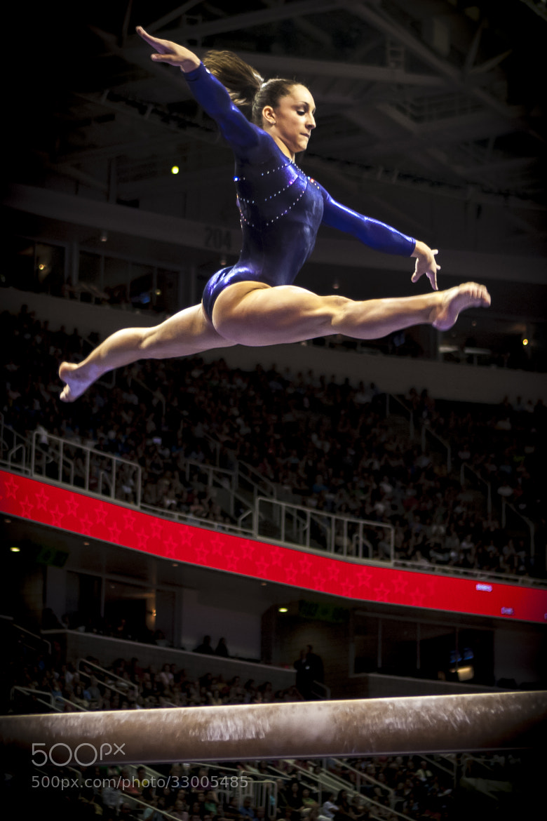 Photograph Olympic Gymnastics Trials by Anthony Solis on 500px