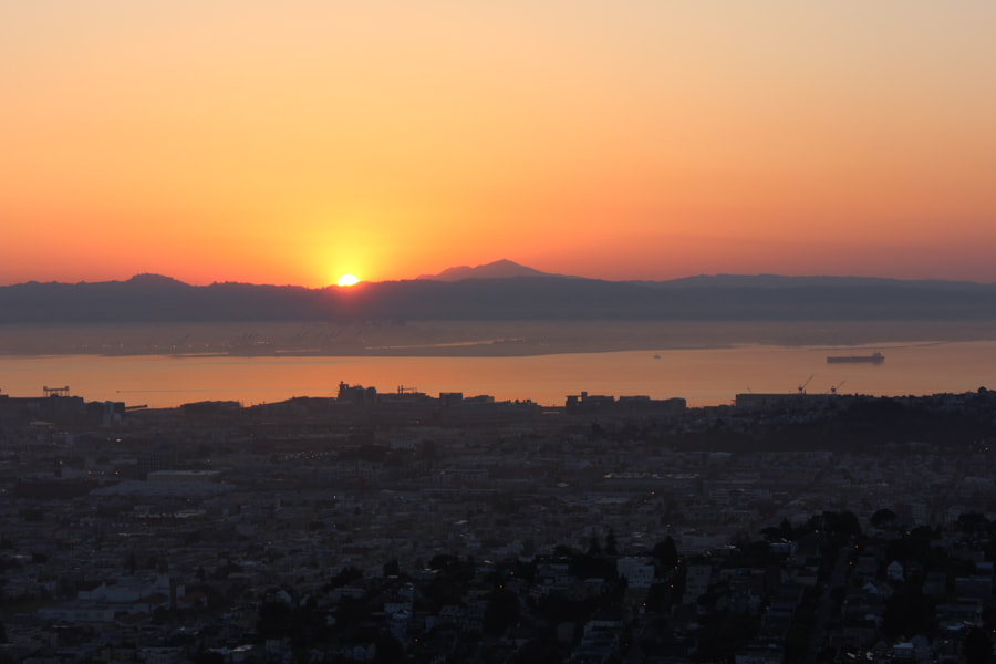 The Sunrise from Twin Peaks