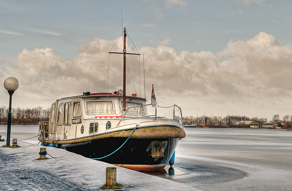Photograph Boat on Earnewoude by Peter van der Plaat on 500px