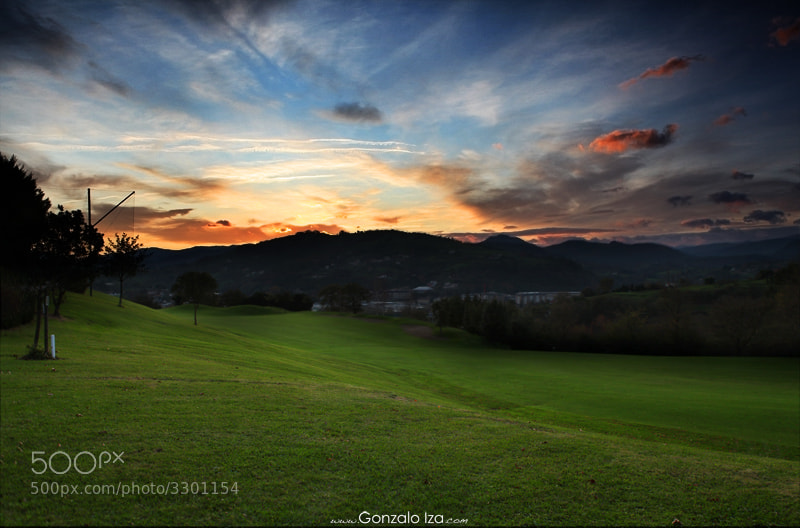 Photograph Amanece en el club de golf Basozabal  by Gonzalo Iza on 500px