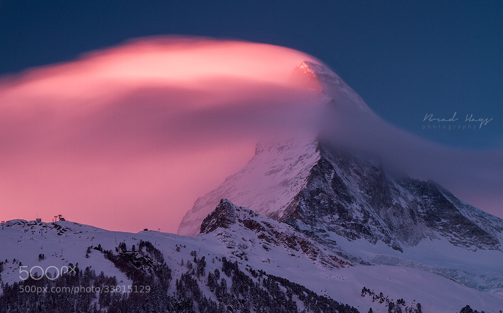Photograph Fire on the Mountain by Brad Hays on 500px