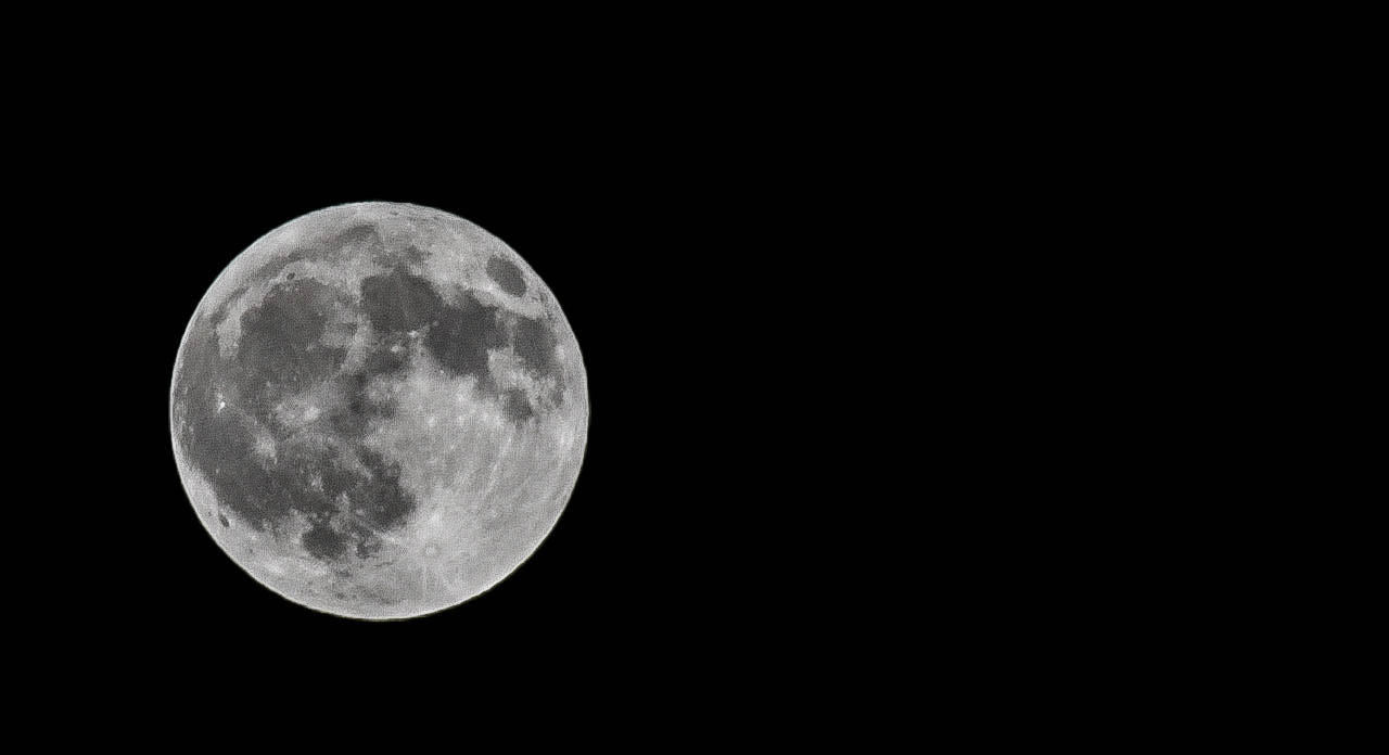 Photograph Full Moon by Lena S on 500px